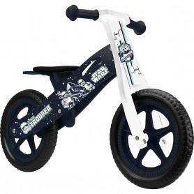 Bicicleta din lemn fara pedale 12 Star Wars Stormtrooper Seven SV9913 Albastru