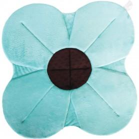 Cadita de plus si salteluta de joaca Poppy BloomingBath BB106P Albastru
