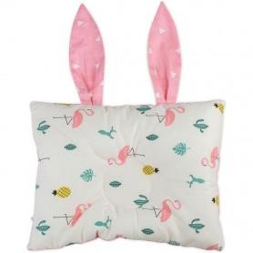 Perna bebelusi Bunny Bambinice BN004 Alb/Roz/Flamingo
