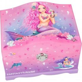 Cutie Bijuterii cu lumini Fantasy Model Depesche PT10481 Roz