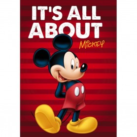 Paturica copii Mickey Red Star ST55888 Initiala