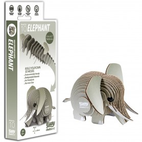 DIY Animale 3D Eugy Elefant Brainstorm Toys D5002 Initiala