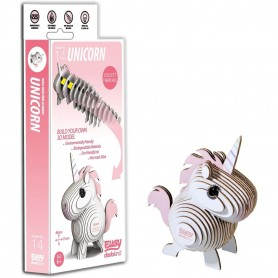 DIY Animale 3D Eugy Unicorn Brainstorm Toys D5004 Initiala