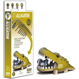 DIY Animale 3D Eugy Aligator Brainstorm Toys D5009 Initiala