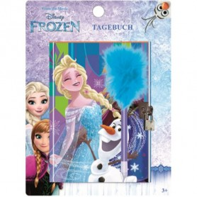 Jurnal Disney Frozen cu lacatel si pix SunCity ARJ006457A Initiala