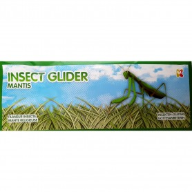 Jucarie Planor Insecte, lungime 24 cm Keycraft KCGL07IN Mantis