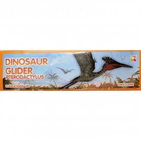 Jucarie Planor Dinozaur, lungime 24 cm Keycraft KCGL07DN Pterodactylus
