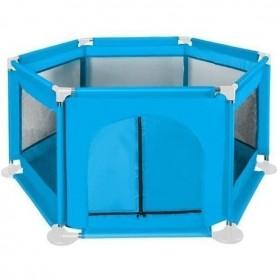 Tarc de joaca copii Textil 125x65 cm Iso Trade MY6601 Albastru