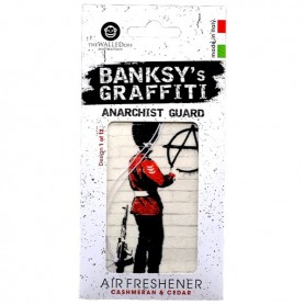 Odorizant auto Anarchist Guard Banksy UB27001 Initiala