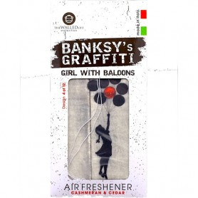 Odorizant auto Girl With Baloons Banksy UB27004 Initiala