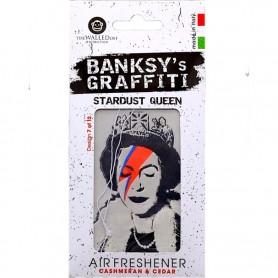 Odorizant auto Stardust Queen Banksy UB27007 Initiala