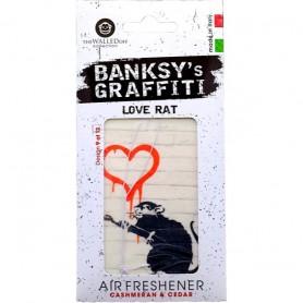Odorizant auto Love Rat Banksy UB27009 Initiala