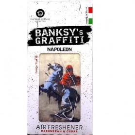 Odorizant auto Napoleon Banksy UB27011 Initiala