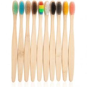 Set 10 periute de dinti din bambus  In One IO022 Initiala