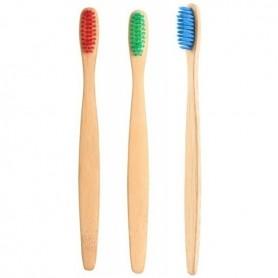 Set 3 periute din bambus pentru copii In One IO023 Initiala