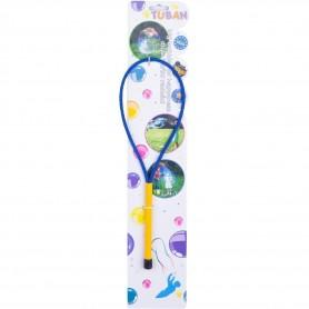 Bat cu inel pentru baloane de sapun 35 cm Tuban TU3605 Initiala