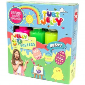 Set Tubi Jelly cu 3 culori - Pasti Tuban TU3319 Initiala