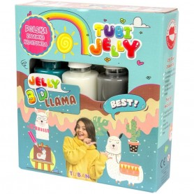 Set Tubi Jelly cu 3 culori - Lama Tuban TU3321 Initiala
