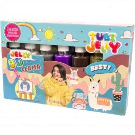Set Tubi Jelly cu 6 culori - Lama Tuban TU3327 Initiala