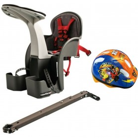 Scaun de bicicleta si Casca Protectie Mickey WeeRide WR01DMK Gri