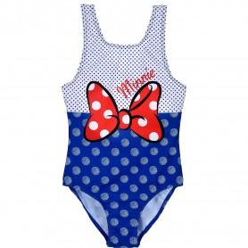 Costum baie cu fundita Minnie SunCity ET1723 Albastru