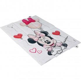 Saltea de infasat pliabila Minnie Disney CZ10344 Bej