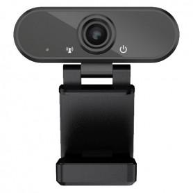 Camera Web 1080P, USB 2.0, FullHD, Trepied inclus In One IO0026 Negru