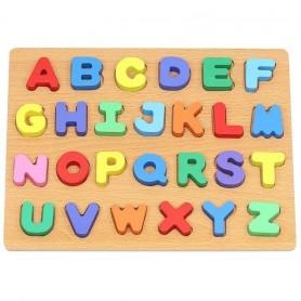 Puzzle lemn alfabet Iso Trade MY17427 Initiala