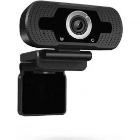 Camera Web 1080P, USB 2.0, FullHD, Trepied inclus In One IO0037 Negru