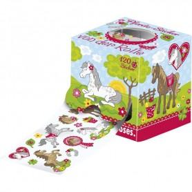 Rola stickere pentru fetite Moses MS30787 Caluti