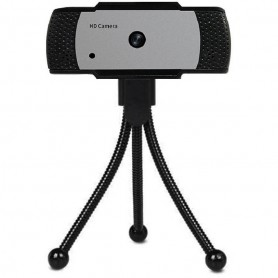 Camera Web 5MP, USB 2.0, FullHD, Autofocus, Trepied inclus In One IO0040 Negru