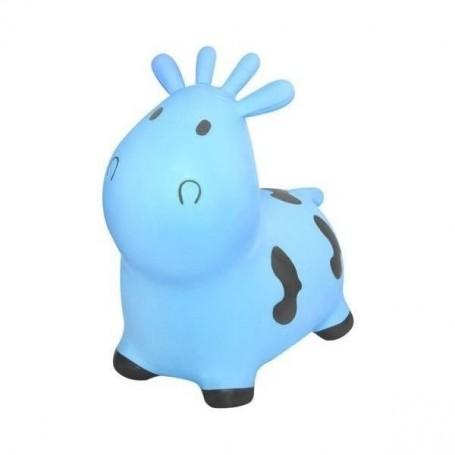 Jucarie gonflabila de sarit Vacuta Kruzzel MY17452 Albastru