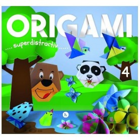 Origami 4 – superdistractiv Editura Kreativ EK5703 Initiala