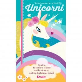 Setul meu de activitati - Unicorni Editura Kreativ EK5836 Initiala