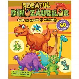 Regatul Dinozaurilor Editura Kreativ EK5606 Initiala