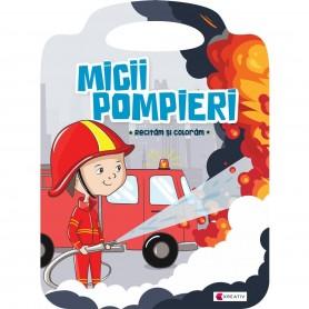 Carte de colorat Micii pompieri Editura Kreativ EK8565 Initiala