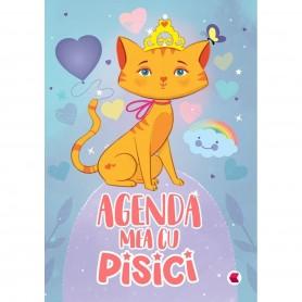 Agenda mea cu Pisici Editura Kreativ EK6027 Initiala