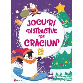 Jocuri distractive de Craciun 5 ani Editura Kreativ EK8664 Initiala
