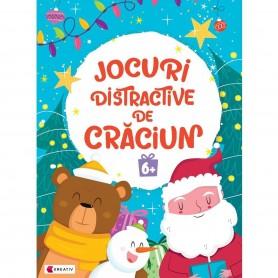 Jocuri distractive de Craciun 6 ani Editura Kreativ EK8671 Initiala