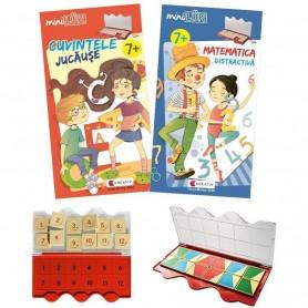 Set joc educativ LUK, varsta 7 ani, Matematica si limba romana Editura Kreativ EK6153 Initiala