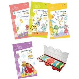 Set joc educativ LUK, varsta 5 ani, Exercitii interdisciplinare anotimpuri Editura Kreativ EK1403 Initiala