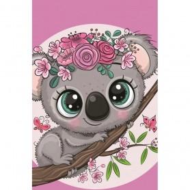 Prosop fata Koala 30x50 cm SunCity CBX203002TNL Roz