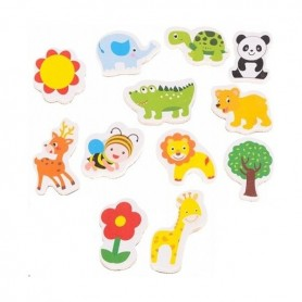 Set 12 magnetei pentru frigider Iso Trade MY17483 Initiala