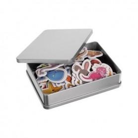 Set 42 magnetei pentru frigider cu animale Iso Trade MY17484 Initiala