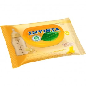 Set 48 Servetele umede bebelusi Biodegradabile Invista IV3204 Initiala
