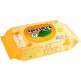 Set 60 Servetele umede bebelusi Biodegradabile Invista IV3203 Initiala