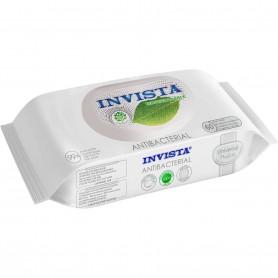 Set 60 Servetele umede antibacteriene Biodegradabile Invista IV3197 Initiala