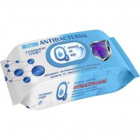 Set 72 Servetele umede antibacteriene cu alcool O3 IV3223 Initiala