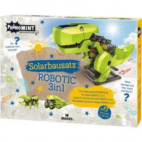 Kit constructie robot solar 3 in 1 PhenoMINT Moses MS30316 Initiala