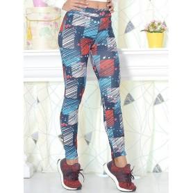 Colanti Dama Multicolor Fitness, Marimea XL
